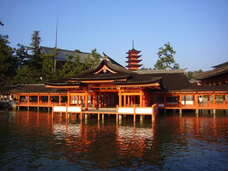 Sanctuaire shinto d''Itsukushima (Japon)